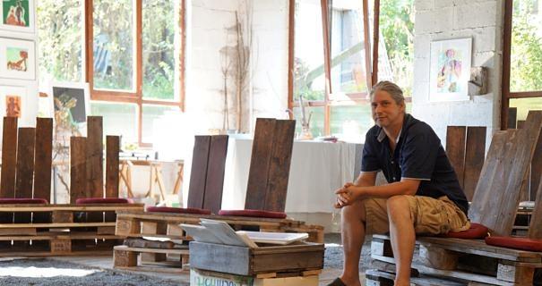 Tobias Küch im Kunstort Montabaur 2016.